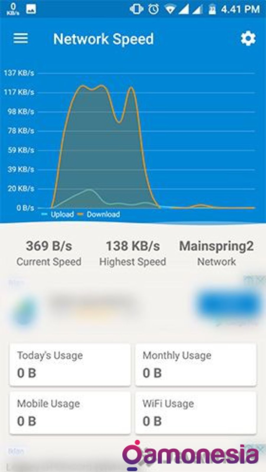 cara cek kecepatan internet android tanpa aplikasi