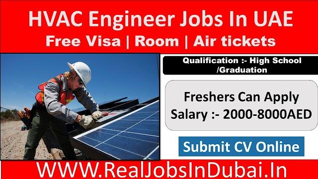 HVAC Engineer Jobs In Dubai, Abu Dhabi & Sharjah - UAE