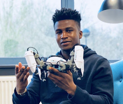 27 year old Nigerian bags highest paid robotics engineer title