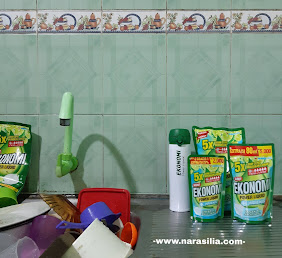 Review sabun cuci piring cair ekonomi siwak jeruk limau hemat