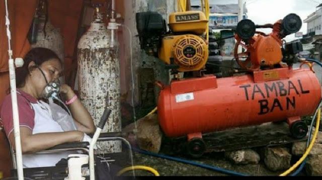 Oksigen Palsu Beredar Diduga Diisi Angin Kompresor, Dokter: Manusia Jahanam
