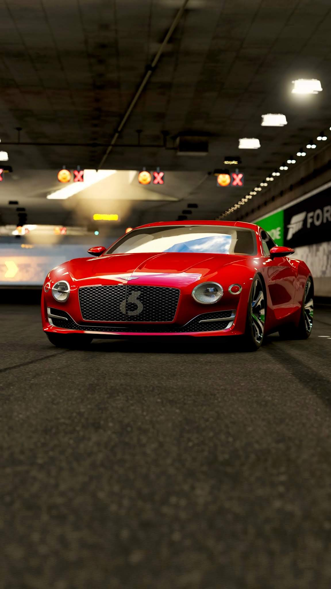 Red Bentley Continental GT Car Wallpaper