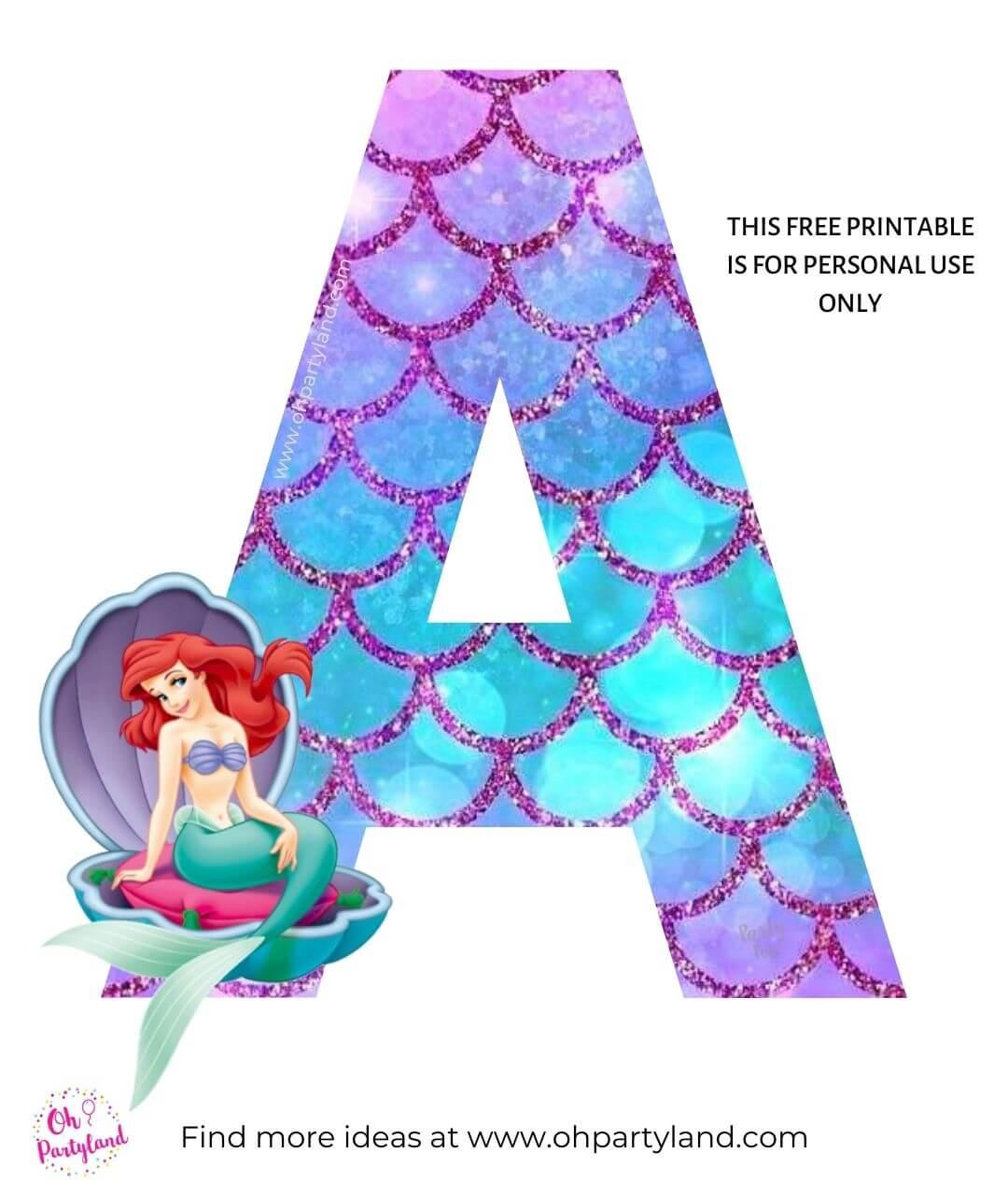 the-little-mermaid-alphabet