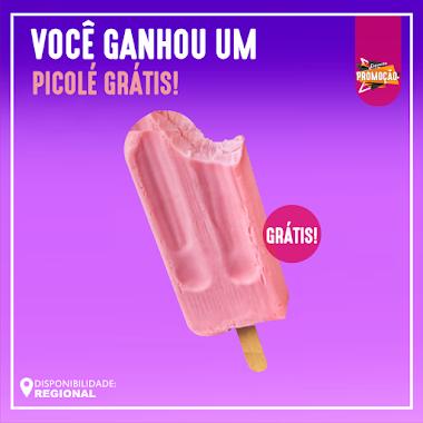 Brindes Grátis - GARANTA 1 PICOLÉ GRÁTIS E MUITO MAIS!
