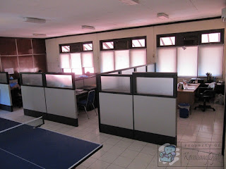 Partisi Ruang Kantor PT Jasa Tirta PDAM + Furniture Semarang