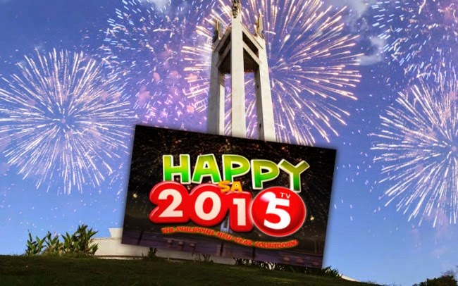 Happy sa 2015: The Philippine New Year Countdown