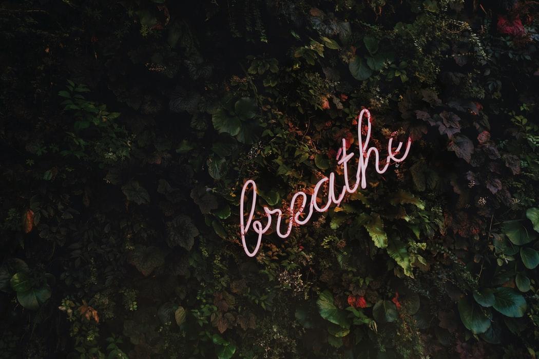 Breathe Neon Light