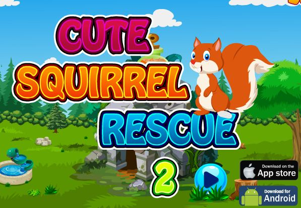 Cute Squirrel Rescue 2 Wa…