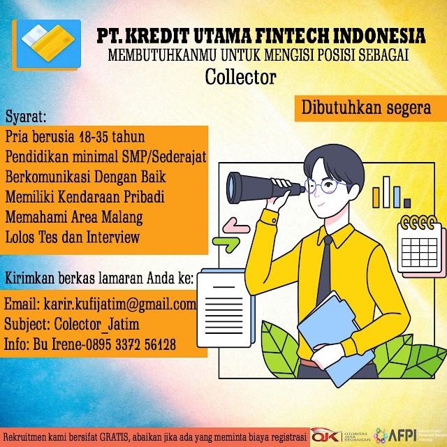 Loker Malang Juni 2021 [PT Kredit Utama Fintech Indonesia]