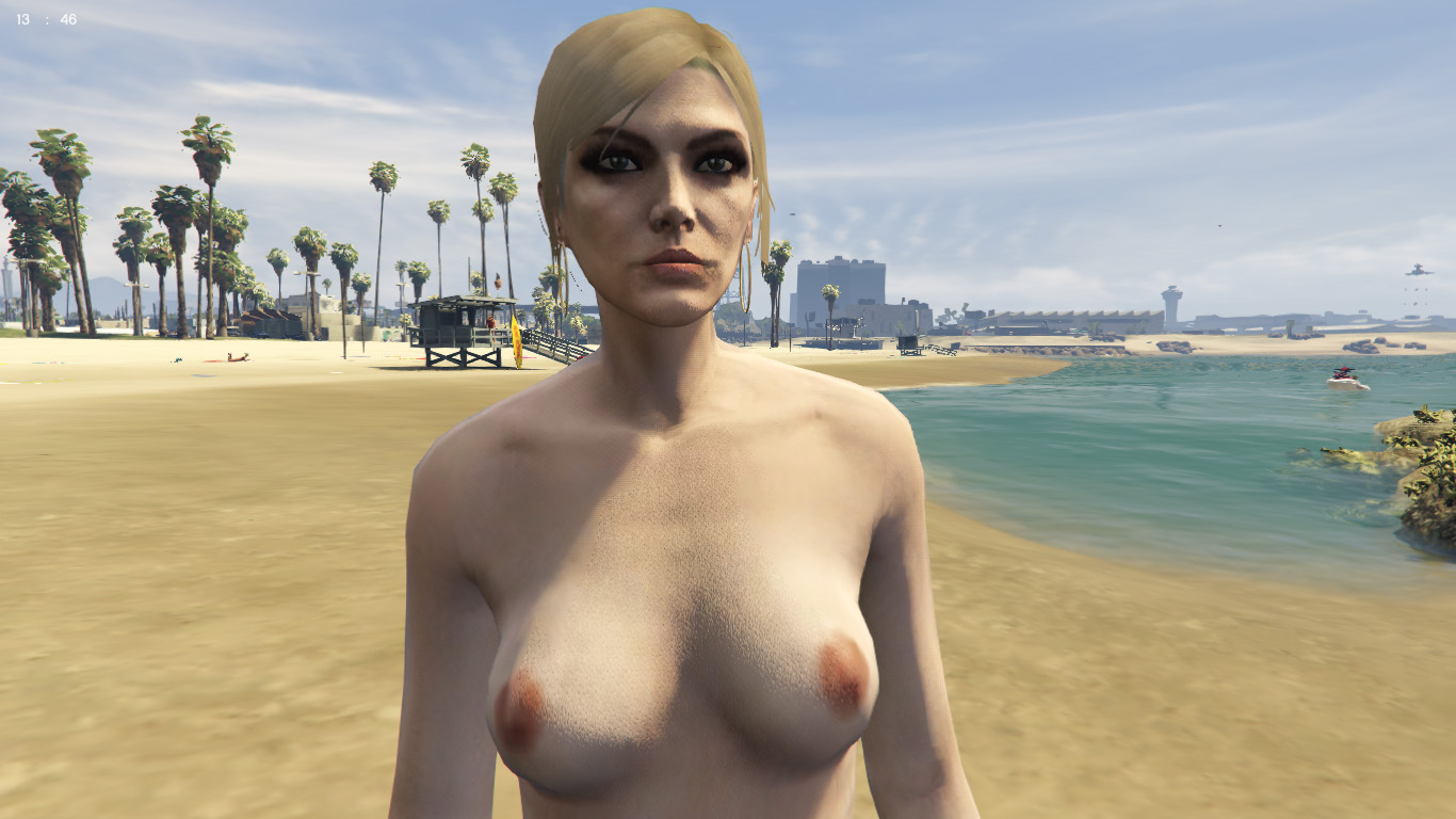 Gta girl naked vagina