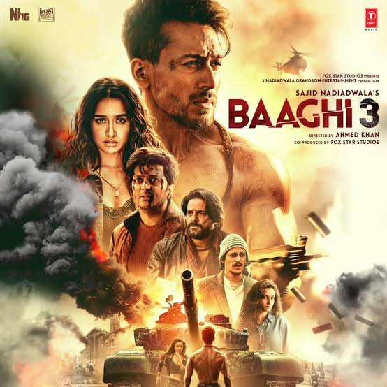 Baaghi 3 (2020) Hindi | Quality 480p 720p 1080p Esub | Direct Links | GDrive