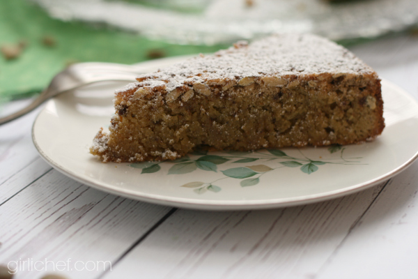 Pepita Cake with Mexican Chocolate and Tequila | www.girlichef.com