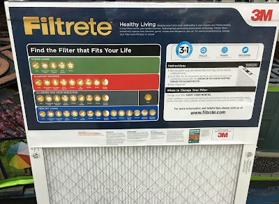 3M Filtrete Elite Allergen Healthy Living 2200 Air Filter - for cleaner air and better living