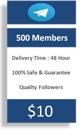 buy 500 telegram members, buy telegram channel subscribers
