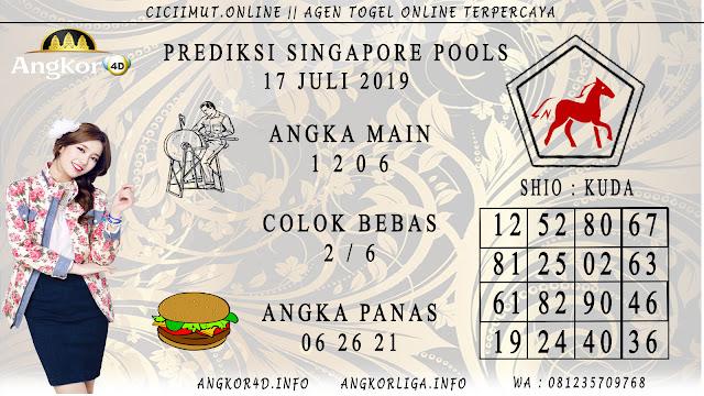 PREDIKSI SINGAPORE POOLS 17 JULI 2019
