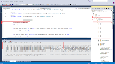 Browsing Code Acumatica
