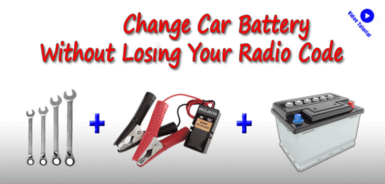 Change Car Battery Without Losing Radio Code