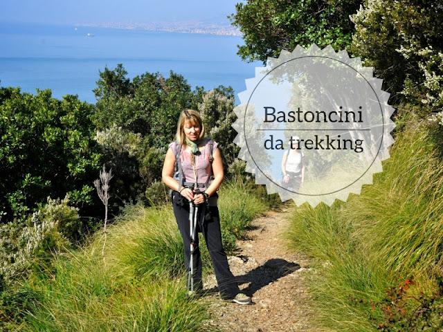 Quali bastoncini da trekking scegliere. sentiero camogli portofino