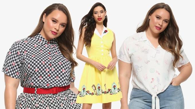Hot Topic lanza su colección de ropa Disney en estilo retro