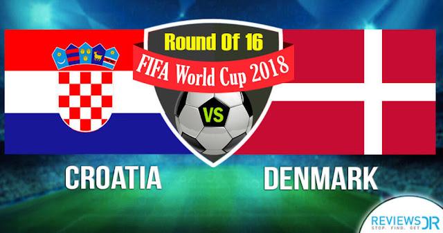 Live Croatia Vs Denmark World Cup 2 July, 2018
