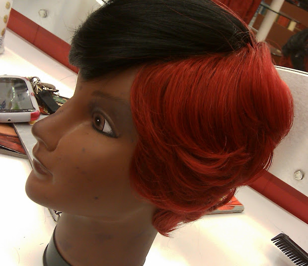 short 27 piece hairstyle fade