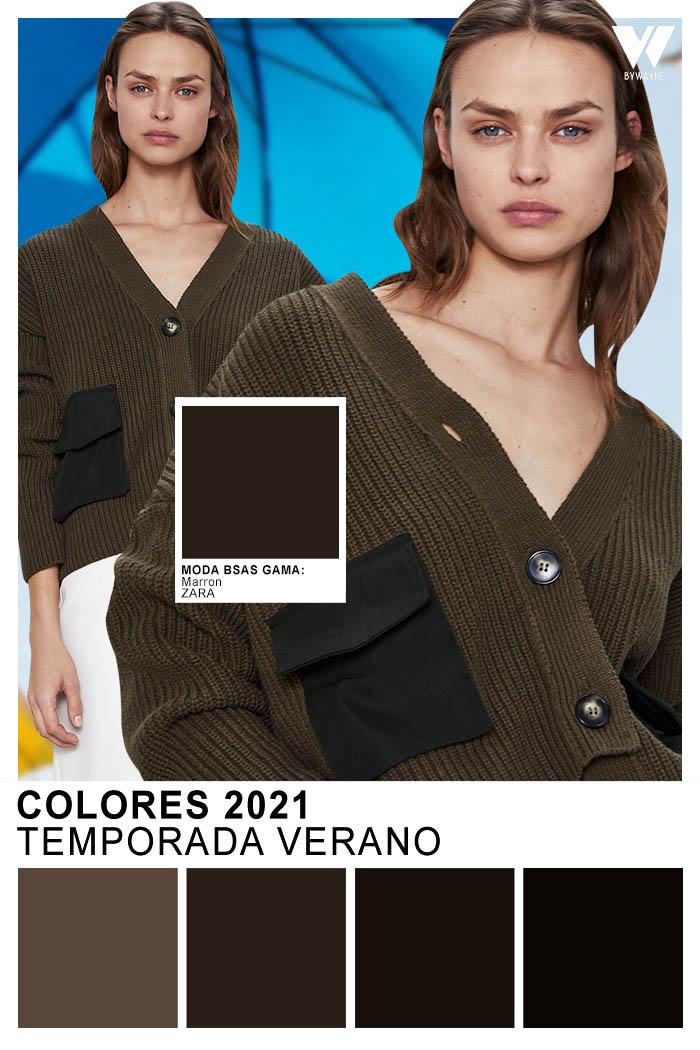 Colores oscuros primavera verano 2021