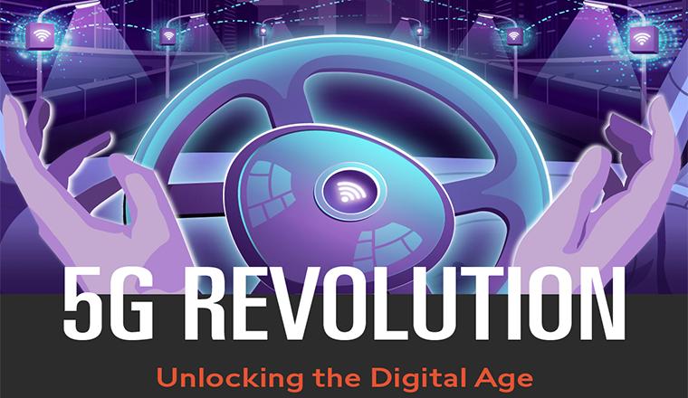 5G Revolution: Unlocking the Digital Age #infographic