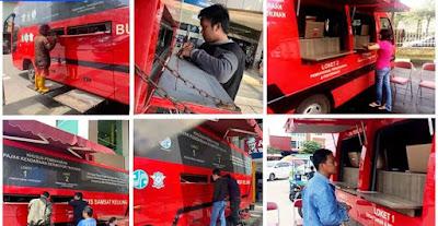 Pembayaran pajak Ranmor di Samsat Keliling Batam