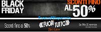 Logo Black Friday, Black to Black e Fuori Tutto: sconti fino al 50%! Monclick svuota il magazzino!