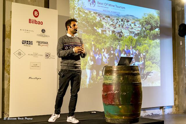 Ignacio Oñate, Hotel Viura y Sidería Araeta en Turistopia 2018 - Bilbao por El Guisante Verde Project