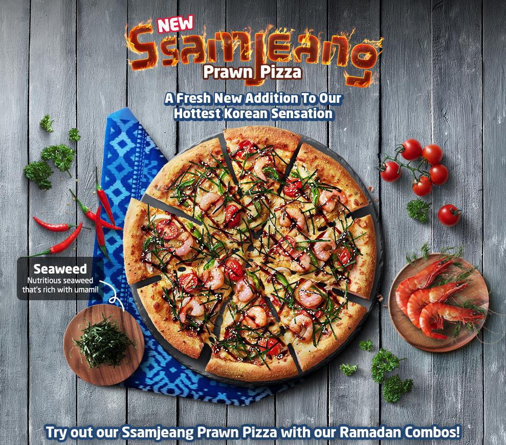 Terkini! Piza Domino Menambah Sensasi Dalam Kehangatan Koreanya