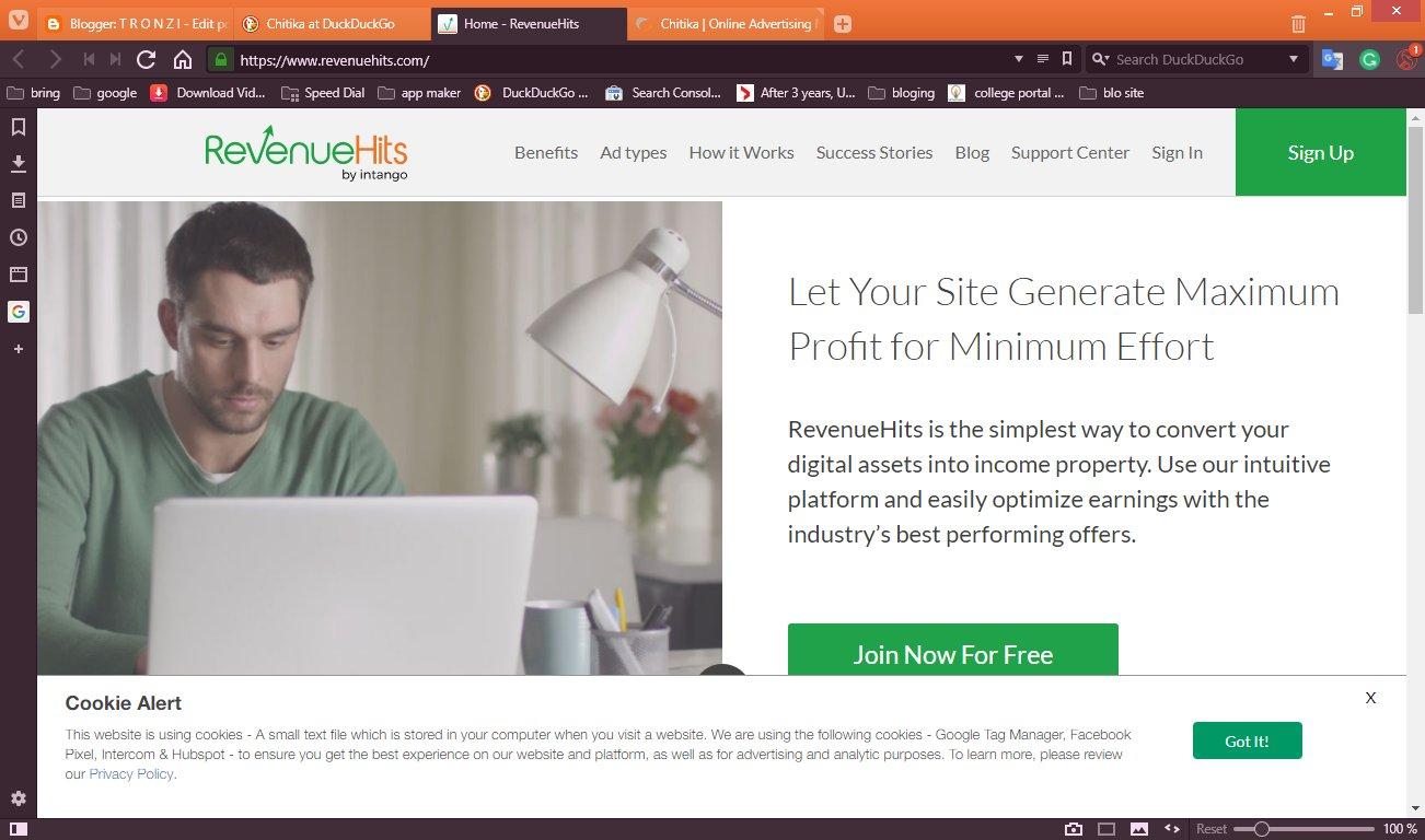 Adsense Alternatives For Blogger Ads Wordpress Ads T R O N Z I