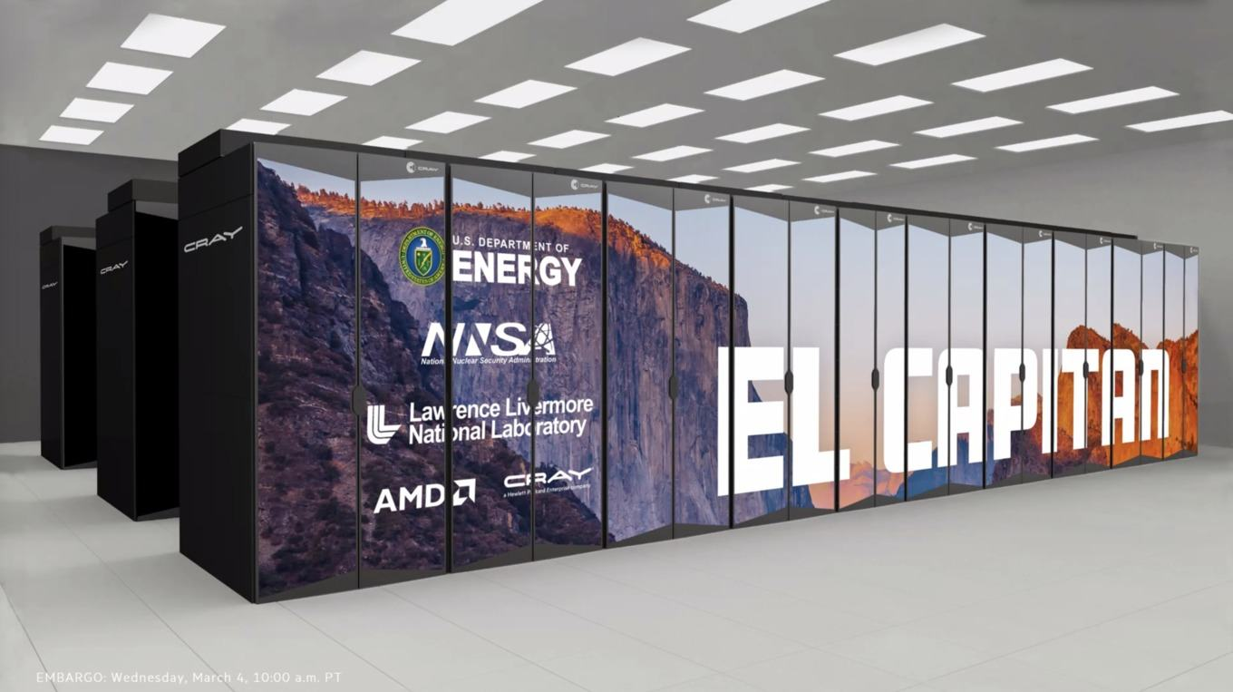 AMD introduced the world's most powerful El Capitan supercomputer based on CPU and GPU, which will be released no earlier than next year