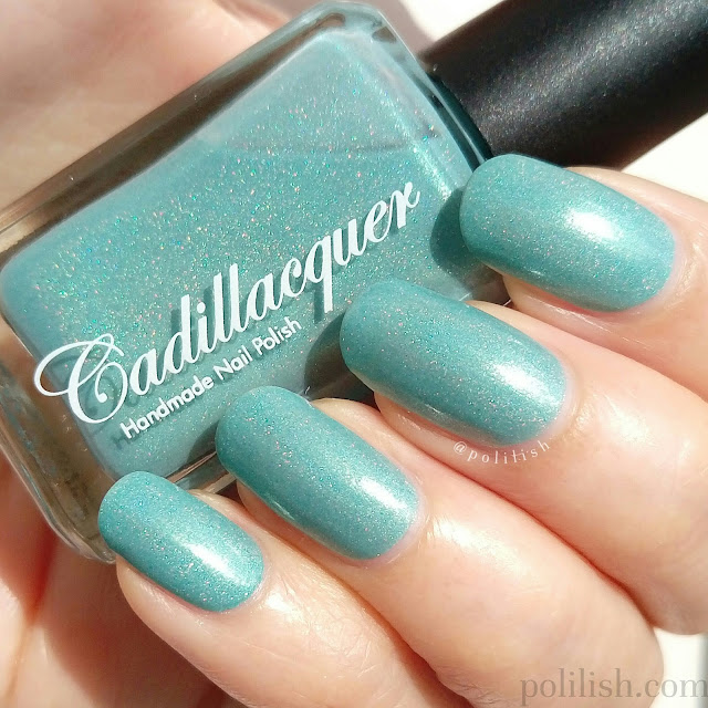 Cadillacquer 'Nothing Burns Like the Cold' swatch, by polilish