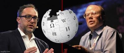 Jimmy Whales és Larry Sanger, a Wikipedia alapítói