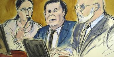 """Declaran culpable de todos sus cargos a """"El Chapo' Guzmán"""