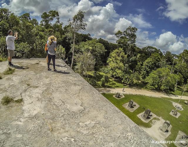 Pirâmide Leste do Complexo Q, Tikal, Guatemala