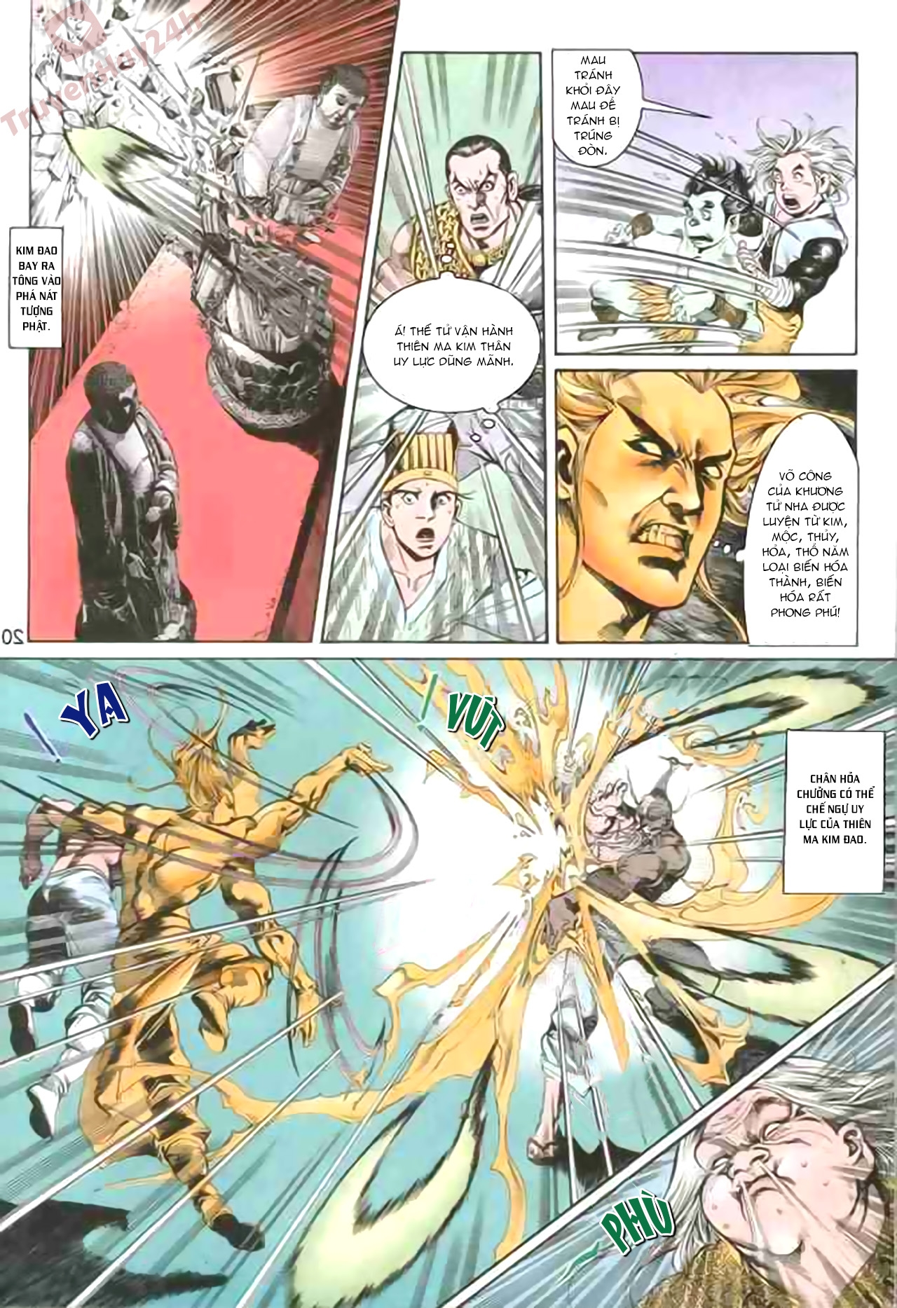Cơ Phát Khai Chu Bản chapter 84 trang 20