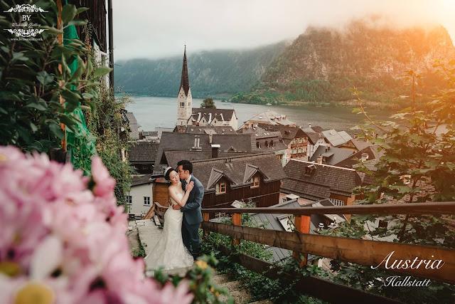 alpine house austria wedding