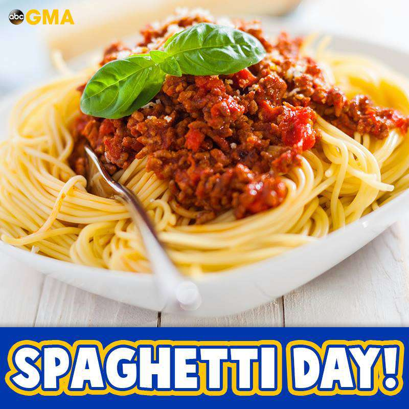 National Spaghetti Day Wishes For Facebook