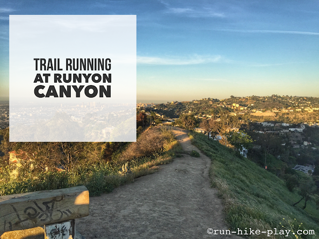 Trail Running at Runyon Canyon
