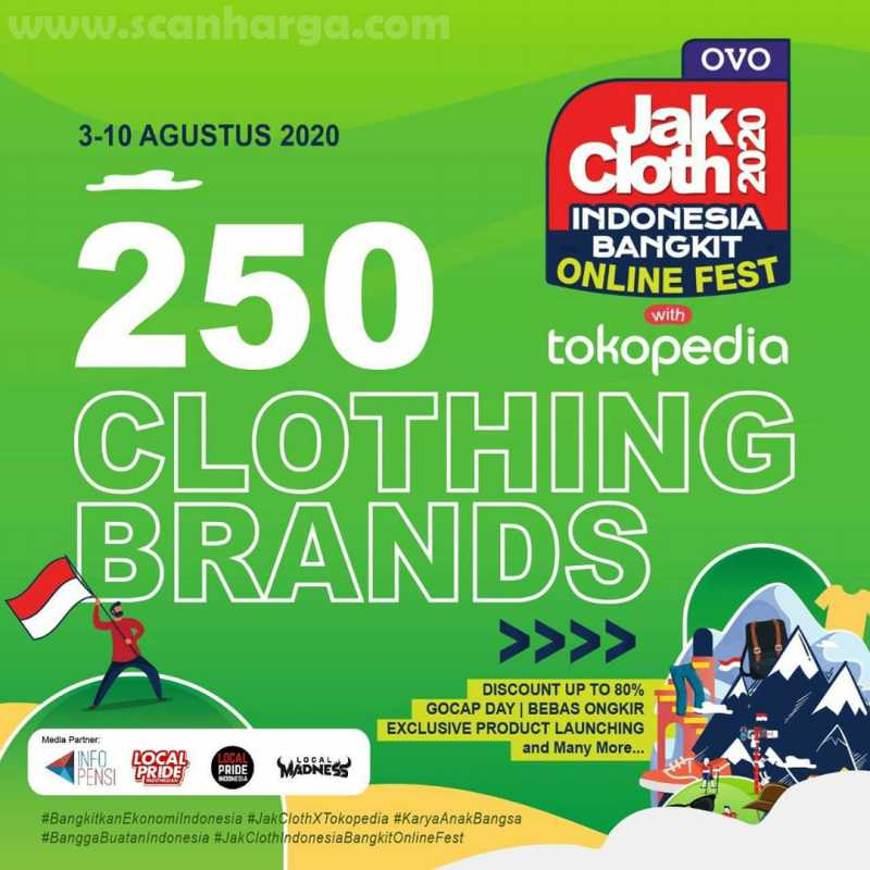 250 Clothing Brands
