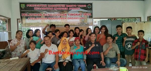 Karang Taruna Karusen Janang Bartim Laksanakan Agenda Rutin Pembinaan Organisasi Kepemudaan