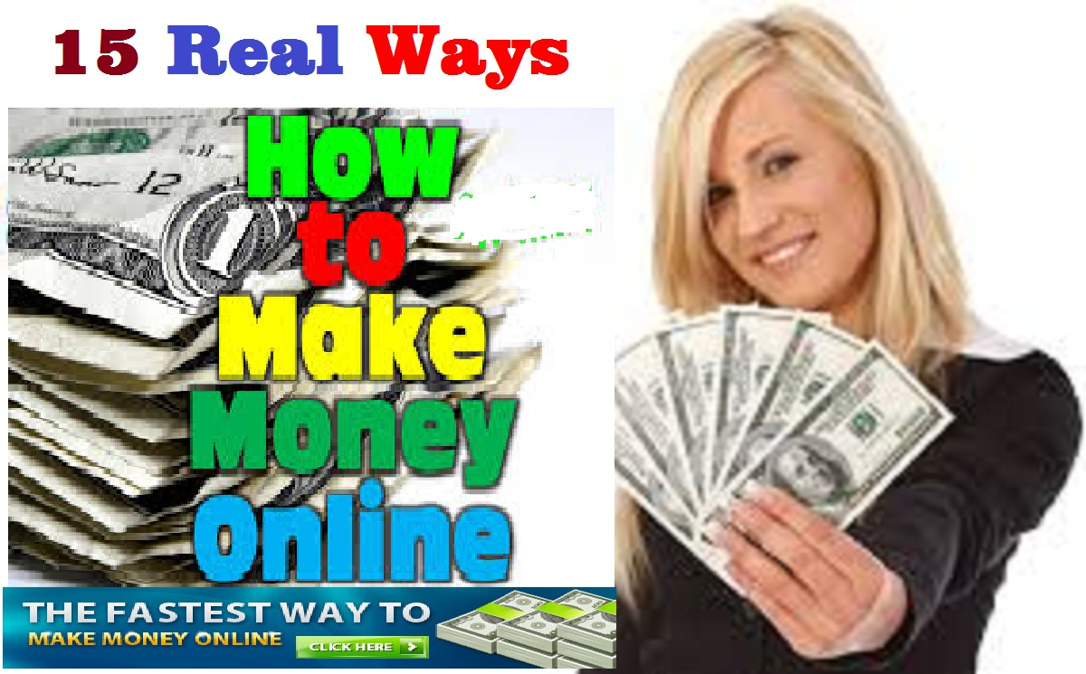 15 ways to earn online money