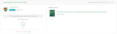 bitacom jual motherboard laptop baru 085711665051