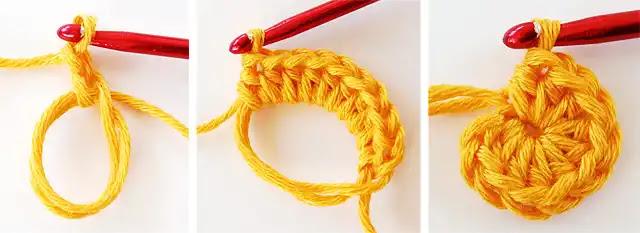 Paso a paso de flor decorativa a crochet