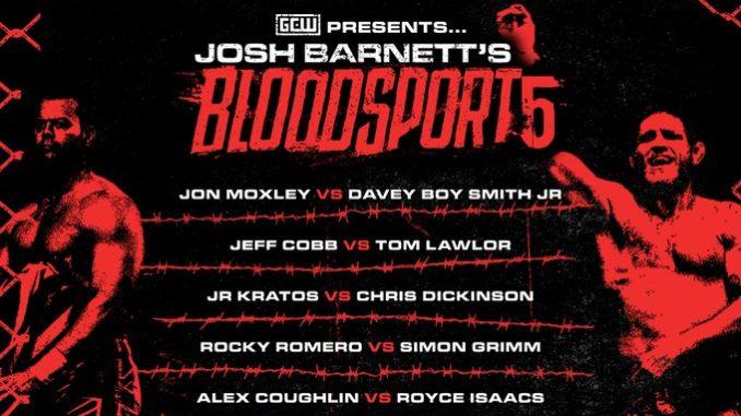 Revelado o card do Josh Barnett's Bloodsport 5