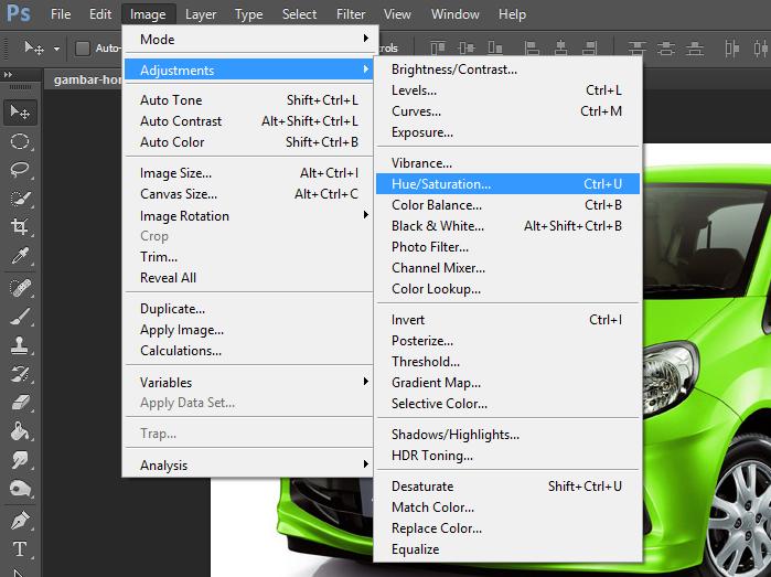 Merubah Warna Objek Dengan Mudah [Photoshop] - asrofims
