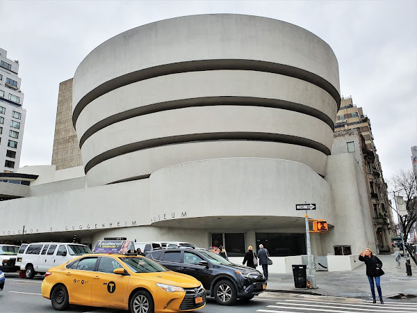 New York City: Solomon R Guggenheim Museum