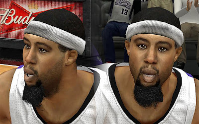 NBA 2K13 John Salmons Cyberface Patch
